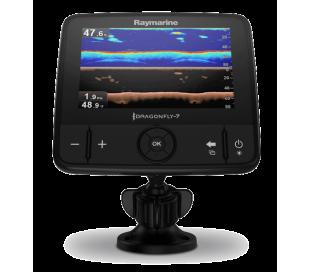 """Dragonfly 7PRO 7"""" CHIRP DownVision in CHIRP sonar s sondo CPT-DVS, Wi-Fi in GPS z EU C-Map osnovno karto"""