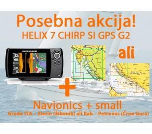 HELIX 7 CHIRP SI GPS G2 + Navionics+ Small