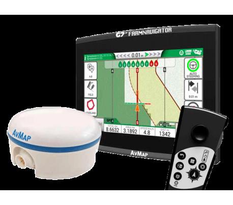 G7 Ezy Farmnavigator + zunanji GPS sprejemnik Turtle Smart