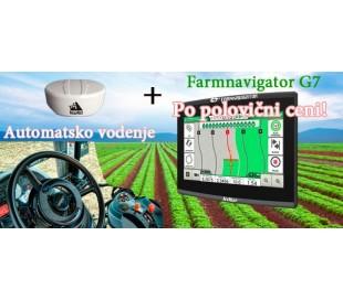 Akcija: G7 Plus Farmnavigator + Novatel AgStar Antena + avtomatsko vodenje Novariant