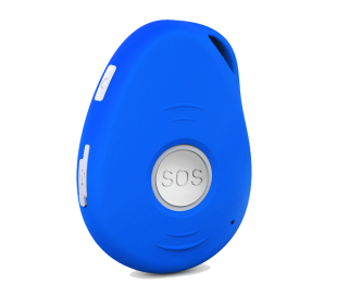 GoTrack TE-207S sledilna naprava (modra s stojalom)