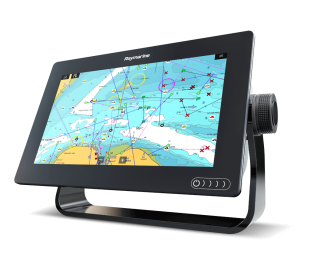 "Axiom 7 DV, 7"" Multifunction Display z DownVision, 600W Sonar in CPT-100DVS sondo in z Navionics+ Small karto za prenos"