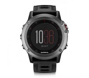 fenix 3 - siva ura s črnim paščkom
