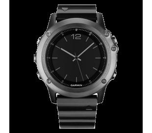 Garmin f?nix 3 Sapphire - Siva kovinska ura s kovinskim paščkom
