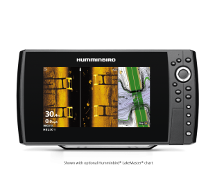 HELIX 9 CHIRP MEGA SI GPS G2N + Motor Minn Kota Riptide Terrova iPilot