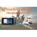 HELIX 9 SONAR GPS + Motor Minn Kota Riptide Terrova iPilot