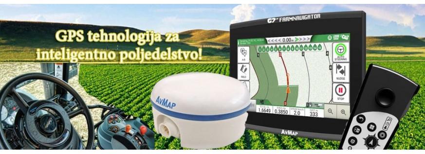 Poljedelska navigacija za traktorje